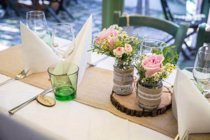 Hochzeitsdekorationen Floristik Modern