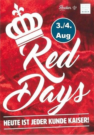 Red Days Summersale